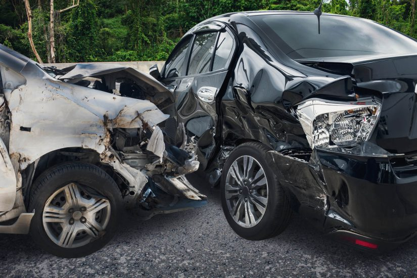 Photo of car accident